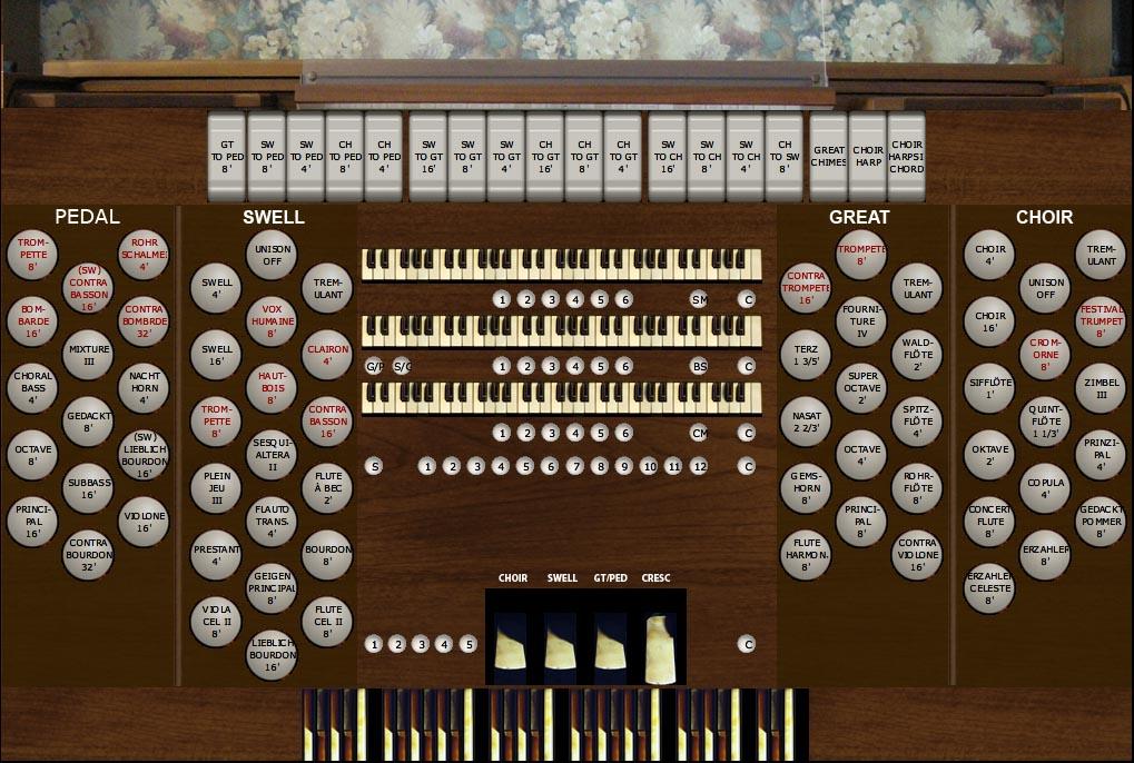Les' Model 945 Organ for HW4